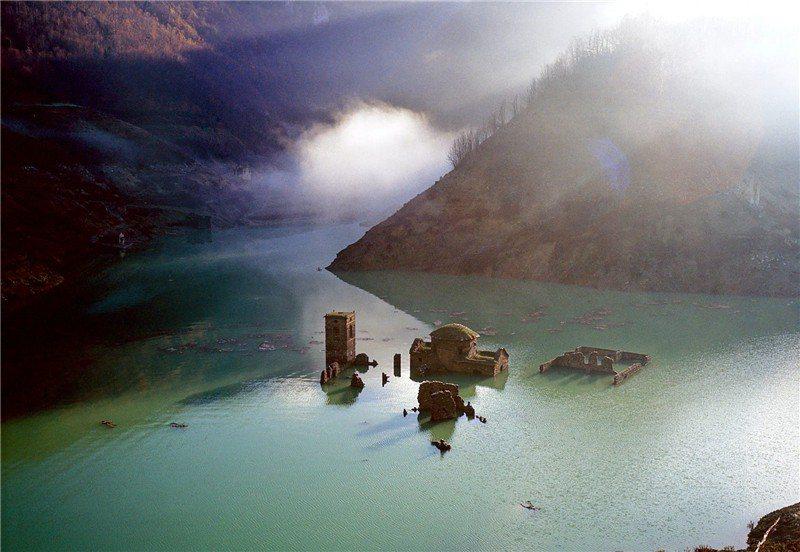 托斯卡尼地區的水下古城即將重生 / 來源: Getty (c) Romano Cagnoni