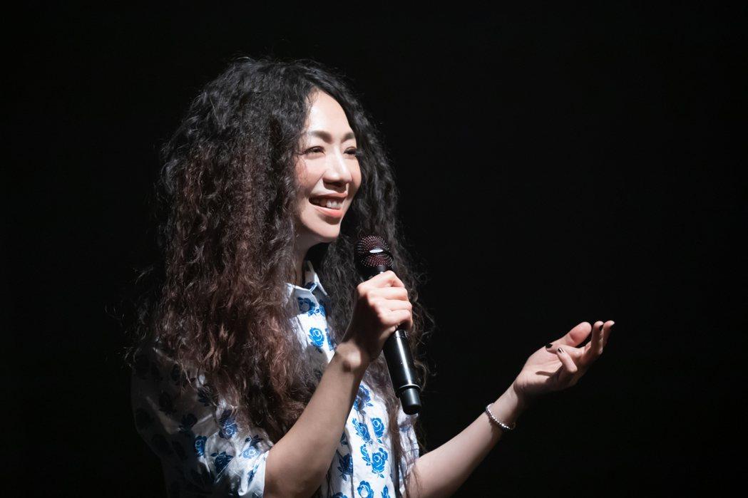 萬芳宣布小巨蛋演唱會延至明年。圖/何樂音樂提供