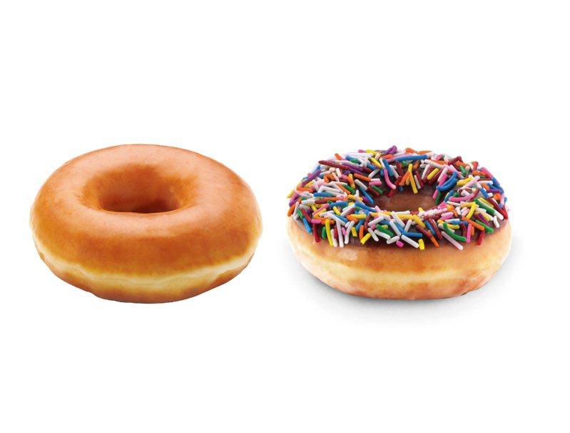 新竹SOGO年中慶期間,只要使用SOGO APP綁定之快樂購卡消費集點,6月8日到6月10日於餐廳或輕食區單筆消費滿1,000元以上,可兌換「Krispy Kreme甜甜圈」或「日分茶 芝士茶王」二擇一。圖/業者提供