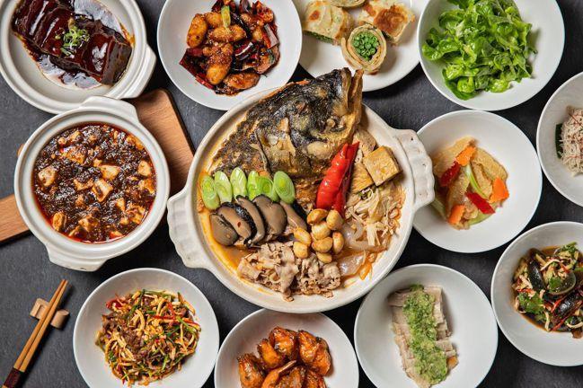 阿珠姐家宴「砂鍋魚頭套餐」。圖/台北晶華酒店提供