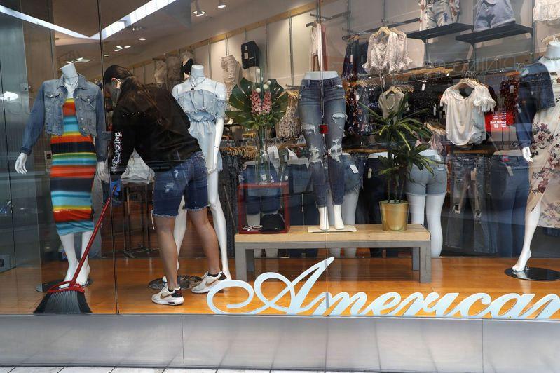 美國各地抗疫限制解除後,店家忙著迎接顧客上門。但調查顯示,5%至10%的零售需求可能永遠消失。歐新社