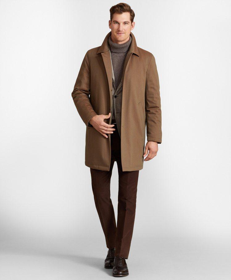 同樣出自頂級Golden Fleece系列的Brooks Brothers風衣外...