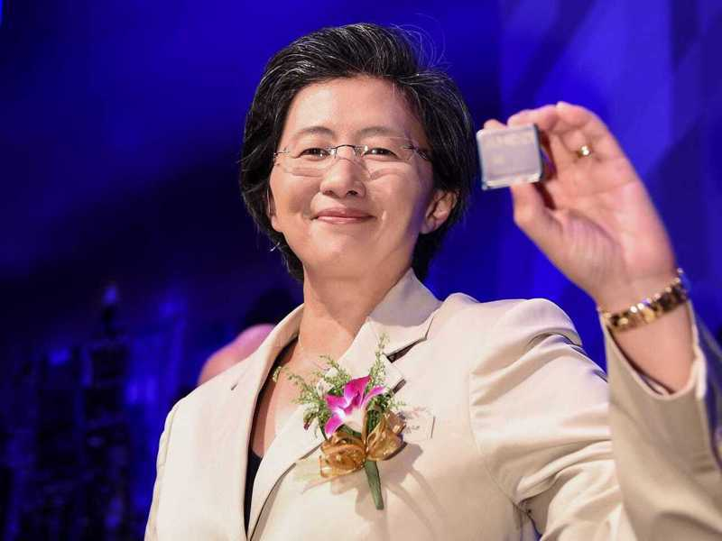 超微(AMD)執行長蘇姿丰以總薪酬5,850萬美元(約新台幣17億元)。美聯社
