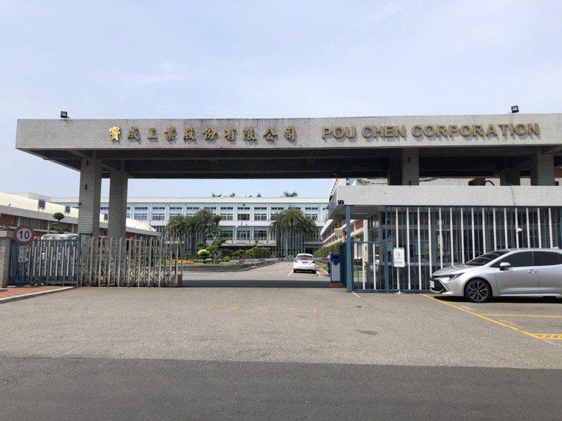 寶成集團福興廠目前有2439名員工放無薪假。記者林敬家/攝影