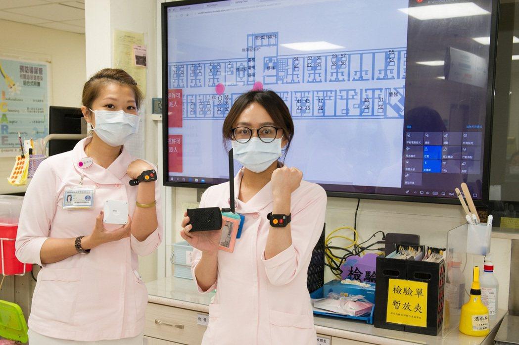 國軍總醫院左營分院導入創鈺精準定位防疫系統。創鈺/提供