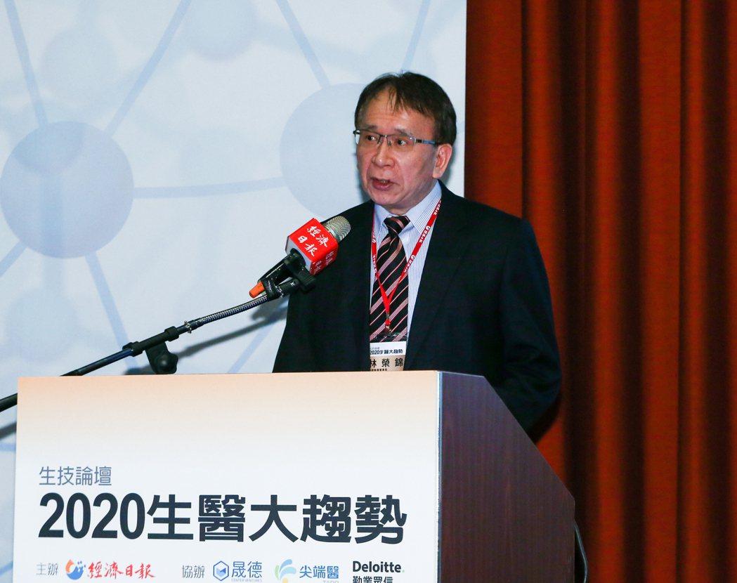 晟德集團董事長林榮錦。記者曾原信/攝影