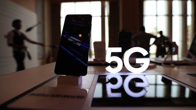 5G行動通訊開始成為市場主流。 圖/歐新社