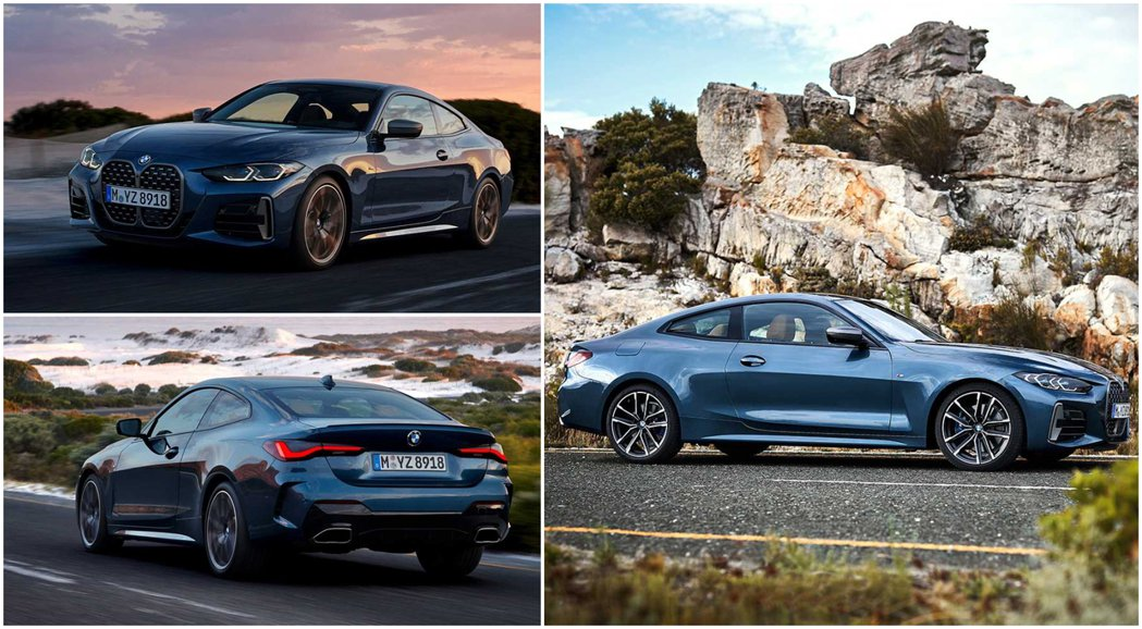 第二代BMW 4 Series Coupe。 摘自BMW