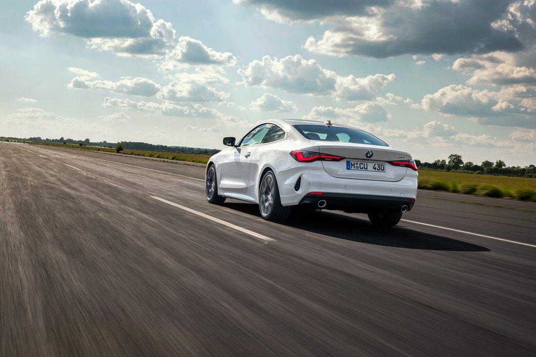 圖為新世代BMW 430i。 摘自BMW