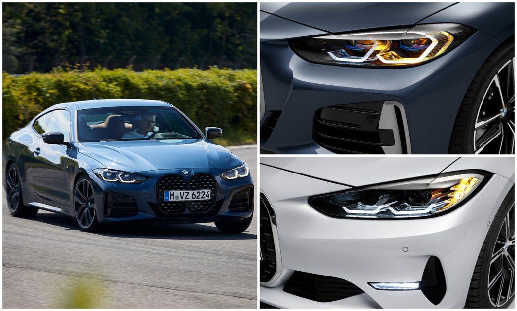 第二代BMW 4 Series Coupe在不同動力車型的燈組設計也有所區別。 ...