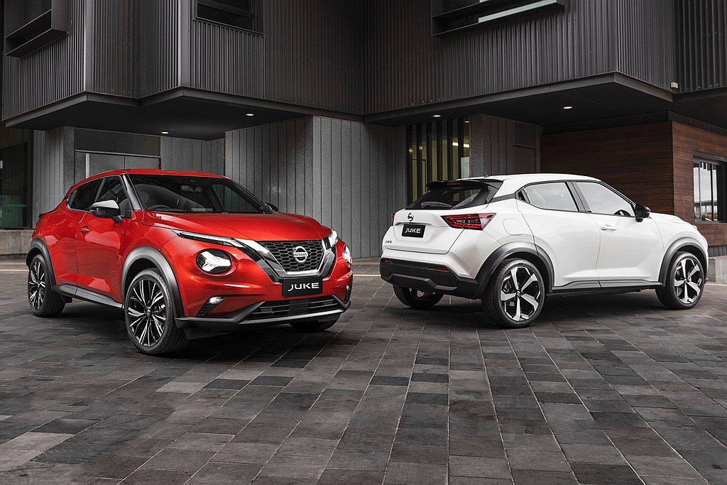 全新第二代Nissan Juke也開始拓展銷售市場。 圖/Nissan提供