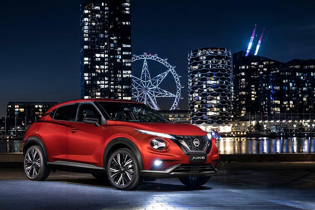 澳洲宣布導入全新第二代Nissan Juke並提供ST、ST+、ST-L、TI四...