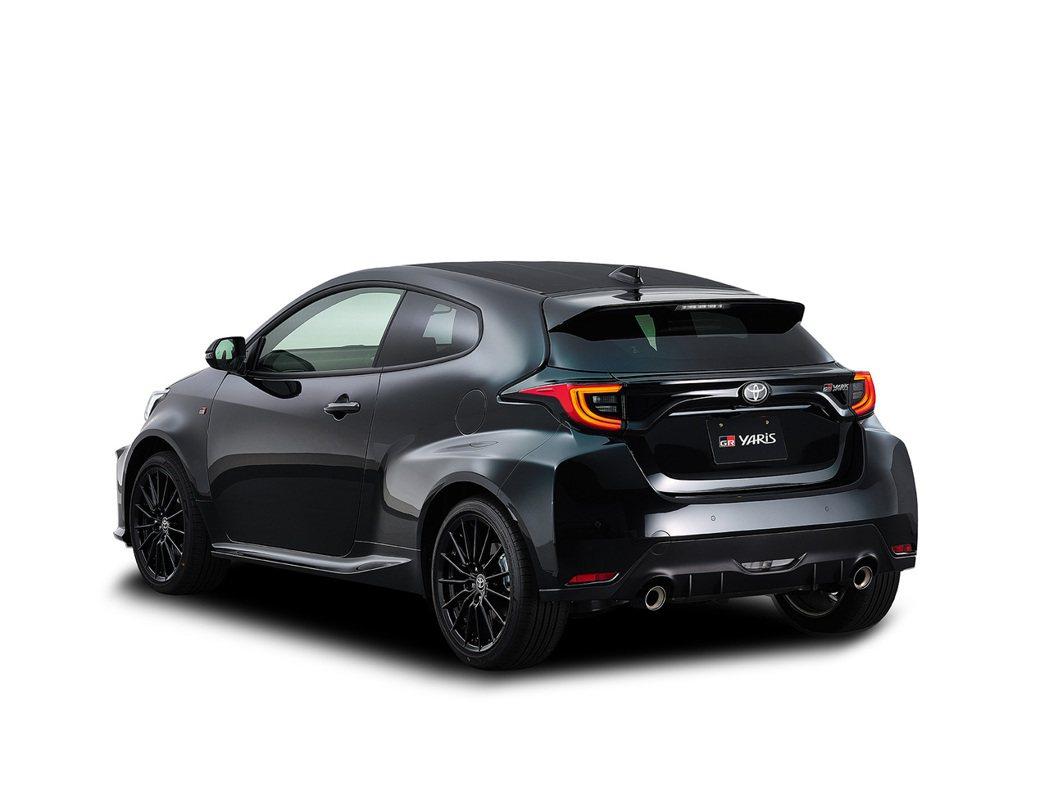 日規GR Yaris入門版RS車型。 摘自Toyota
