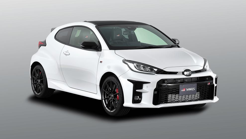 日規GR Yaris分為RS/RZ/RC三種型號。 摘自Toyota