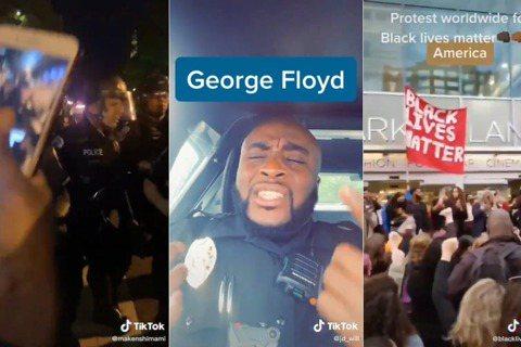 美國黑人喬治.佛洛伊德之死引爆的抗爭持續延燒,日前有大量警暴與前線抗爭影片透過抖...