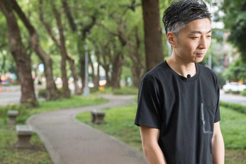 林泉期許自己能持續在台灣土地上探索出新意。記者陳立凱/攝影 陳立凱