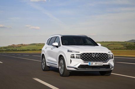 新平台、新外觀、新動力加持 小改款Hyundai Santa Fe無預警現身!