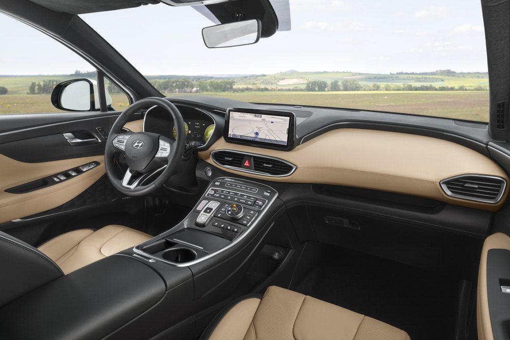 小改款Hyundai Santa Fe採用了線傳式排檔系統。 摘自Hyundai