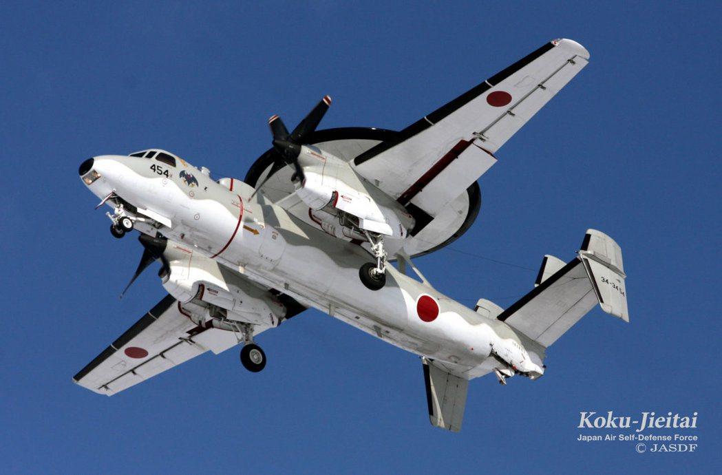 逐漸太換的E-2C預警機。 圖/日本自衛隊