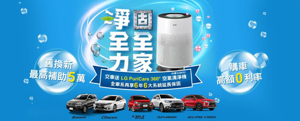 中華三菱祭出超有感購車優惠,本月底前購買 COLT PLUS、OUTLANDER...