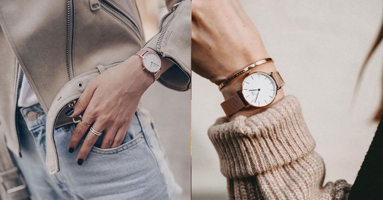 圖/Bella儂儂提供 Source:Daniel Wellington @IG
