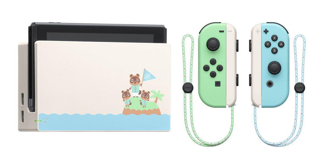 愛買量販今限量發售「Switch《集合啦!動物森友會》特別版主機+3,000元電...
