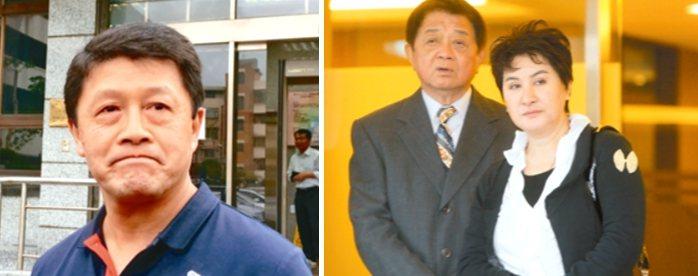歌仔戲國寶楊麗花丈夫、新光創業股東洪文棟(右圖左)前年11月過世,男子徐國璋(左