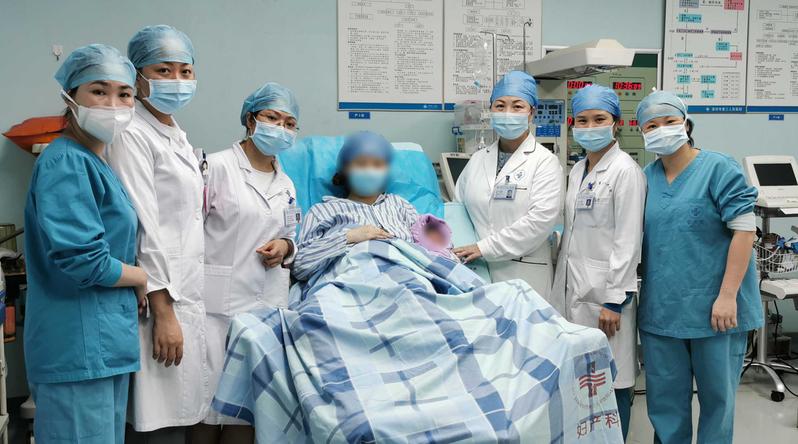 深圳市一名新冠病毒無症狀感染孕婦日前生產,男嬰未感染且一出生就帶有新冠病毒抗體。(取自《澎湃新聞》)