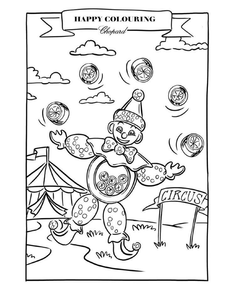 蕭邦以帶給人們歡笑的小丑作為著色活動的主角,希望帶來振奮人心的效果。圖/蕭邦提供