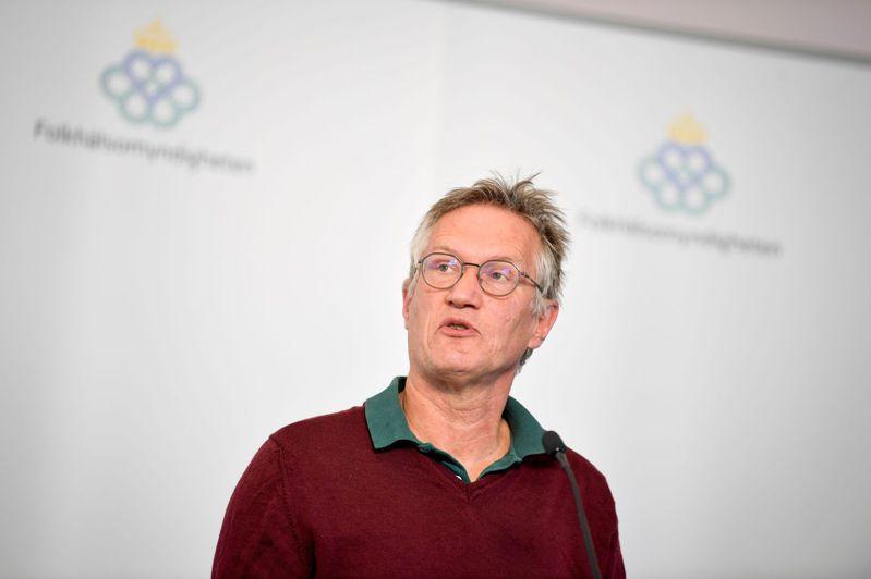 瑞典國家流行病學專家特涅爾。法新社