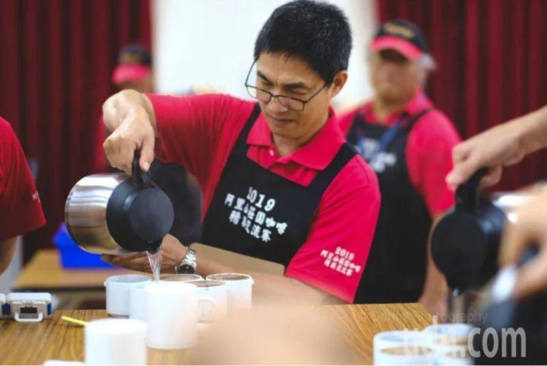 「2020阿里山莊園咖啡精英交流賽」即日起至6月10日開放報名,預計7月10日舉辦咖啡媒合會。圖/阿管處提供