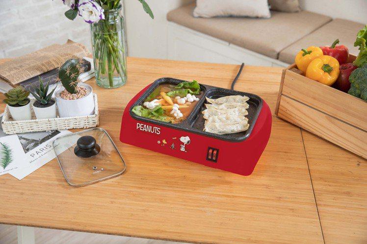 康是美6月24日起消費滿488元可加價購SNOOPY煮烤兩用鍋,原價1,980元...