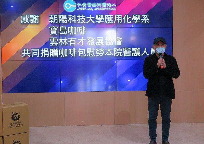 朝陽科大應用化學系兼健康農糧中心主任錢偉鈞。 蔣佳璘/攝影