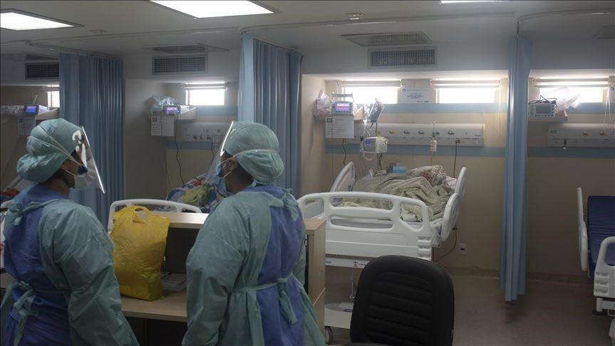 圖說:圖片為巴西里約熱內盧染疫病患接受治療情形。圖/中央社