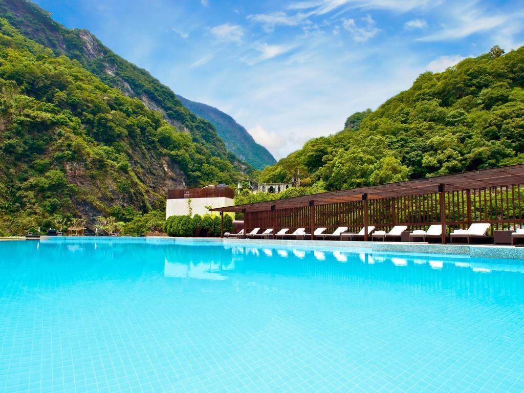 太魯閣晶英無邊際泳池,夏日透心涼。 Agoda /提供