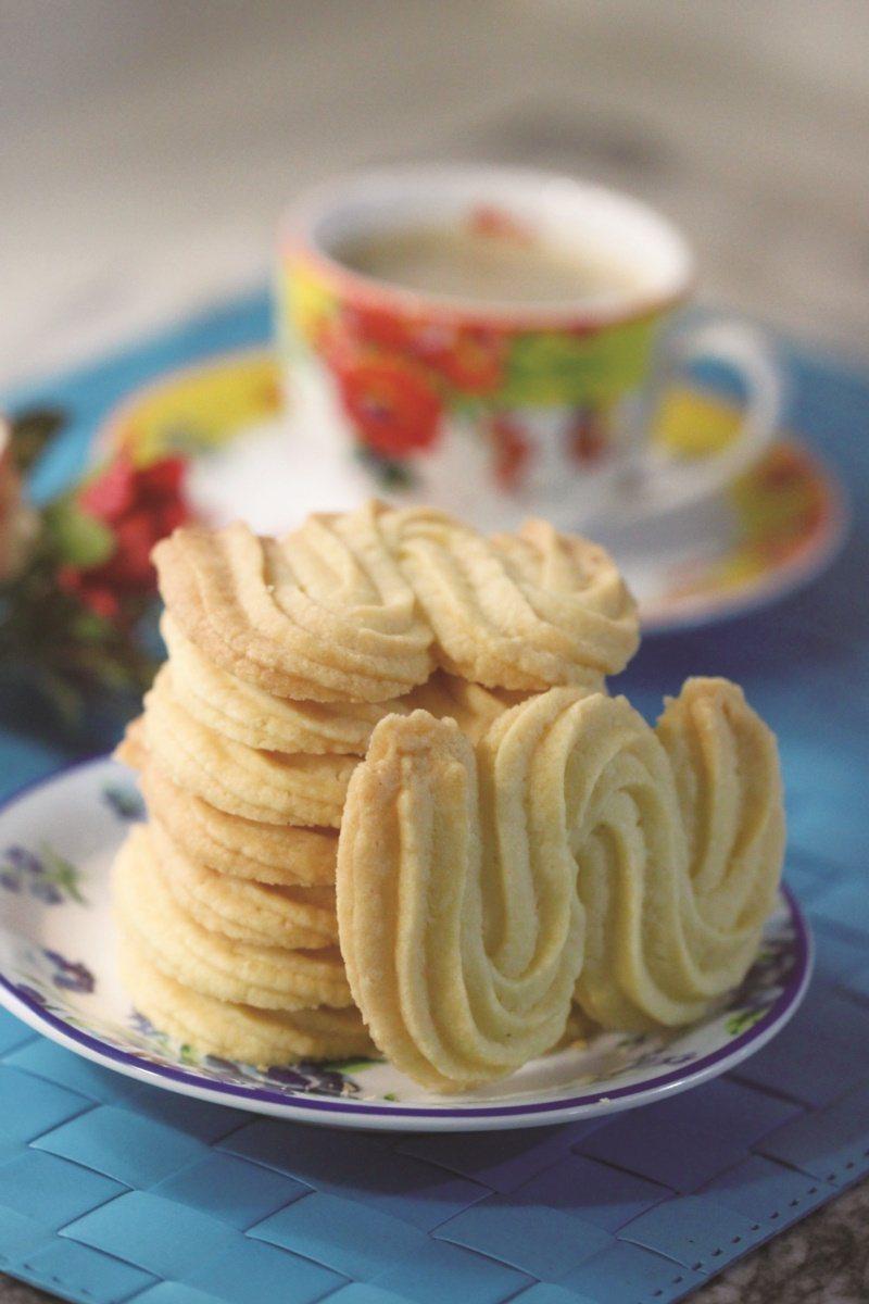 經典維也納酥餅。 圖/橘子文化提供