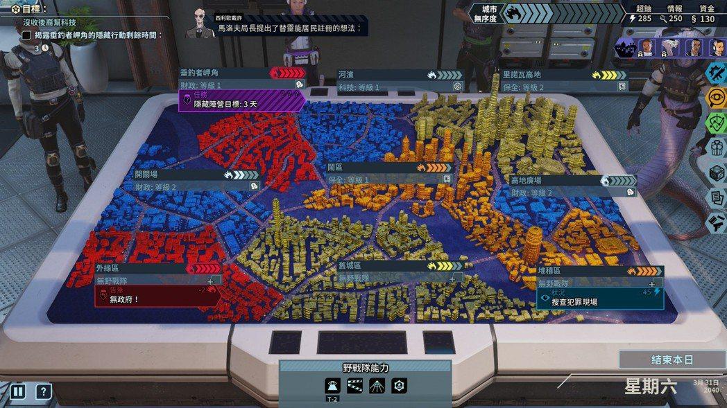 玩家的任務就是阻止31號市陷落,維護城市的安全。