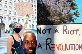 「我們會與你站在一起戰鬥!」好萊塢名人齊上街抗議 非裔男之死事件持續發酵
