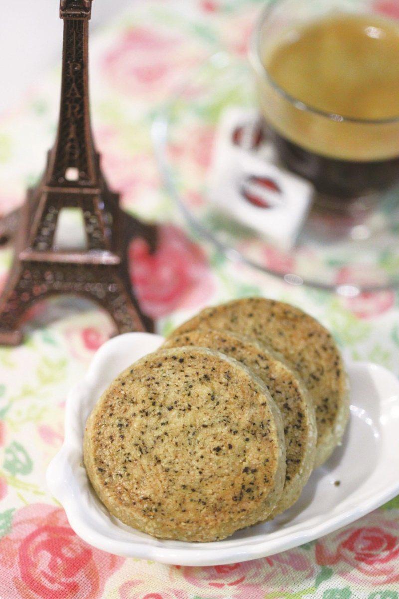 紅茶莎布蕾酥餅。 圖/橘子文化提供
