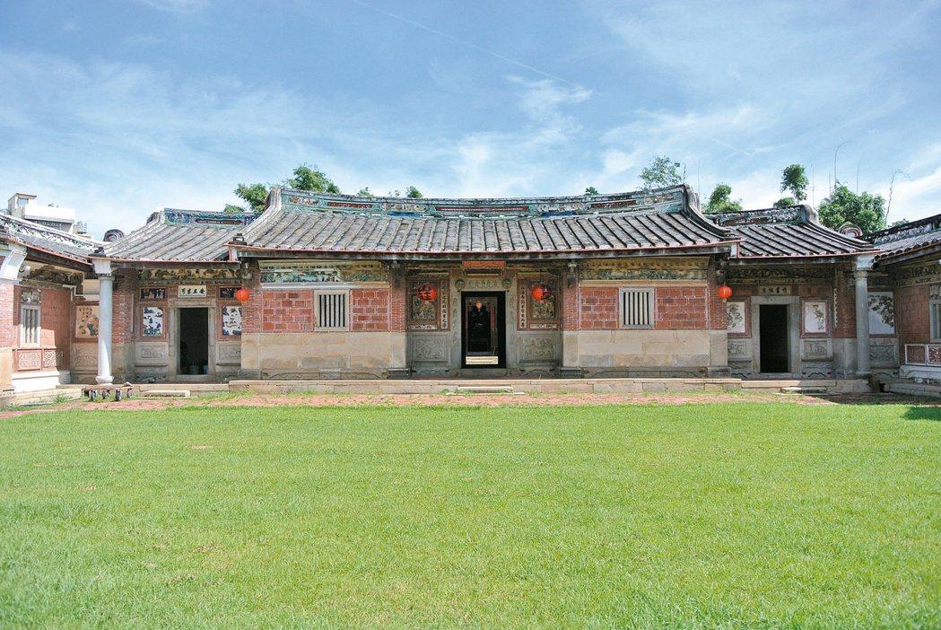 摘星山莊位於台中市潭子區,並於2019年獲頒文化部「古蹟歷史建築紀念建築管理維護評鑑獎勵」優良個案。 圖/聯合報系資料照