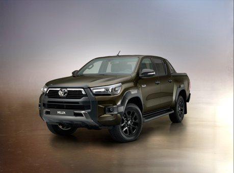 硬派皮卡外觀、動力強悍升級 Toyota Hilux二度改款亮相!