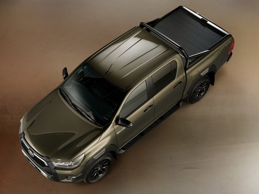Toyota Hilux。 摘自Toyota