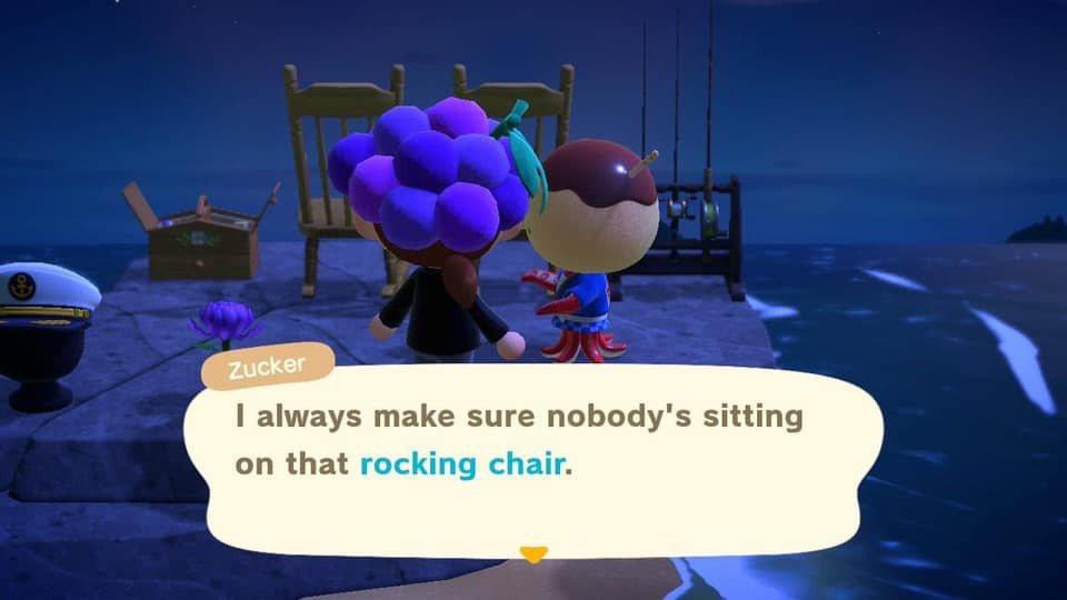 沒想到島民一句話卻讓玩家瞬間淚崩。圖擷自Facebook