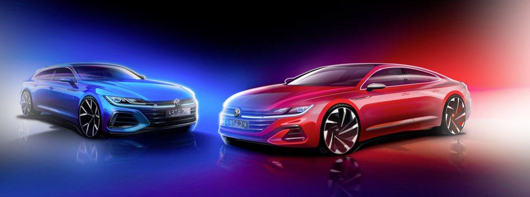 小改款Volkswagen Arteon還將推出全新Arteon Shootin...
