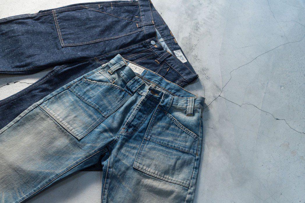 牛仔褲的發展歷史和設計細節,與男性文化的根柢相合,加深了單寧可供探究的魅力。 圖...