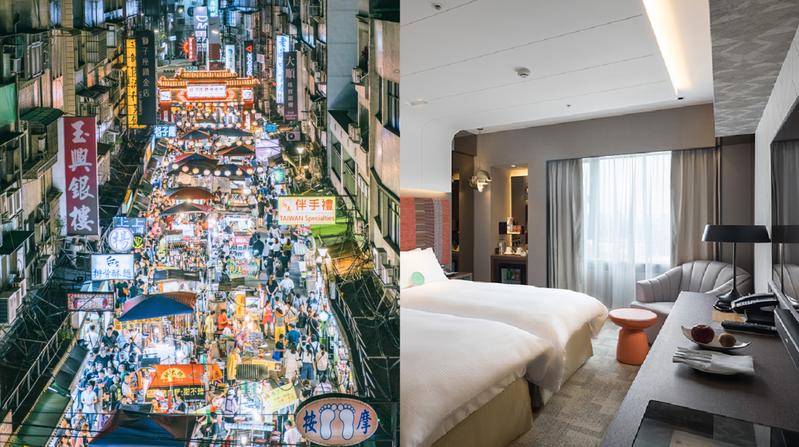 五星亞都麗緻大飯店推出「吃喝玩樂行在台北」專案,在雙北消費,即使在夜市,憑合照也可以折抵住宿喔! 圖/IG攝影師Y9UU授權  圖/台北亞都麗緻大飯店
