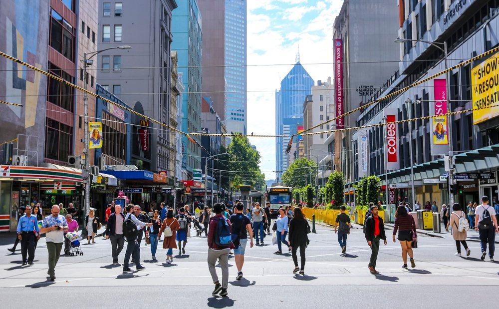 澳洲墨爾本街頭。(圖片來源:Shutterstock)
