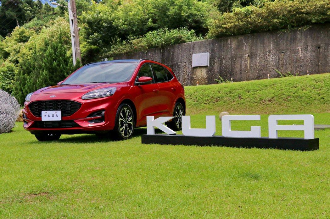 全新大改款Ford Kuga將挑戰國產休旅新標竿。 記者陳威任/攝影