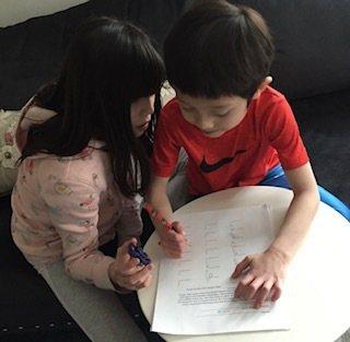 不同年紀小朋友會利用不同方式解數學題,數學能力跟她(他)們的心理直覺和理解的舒適度有關。