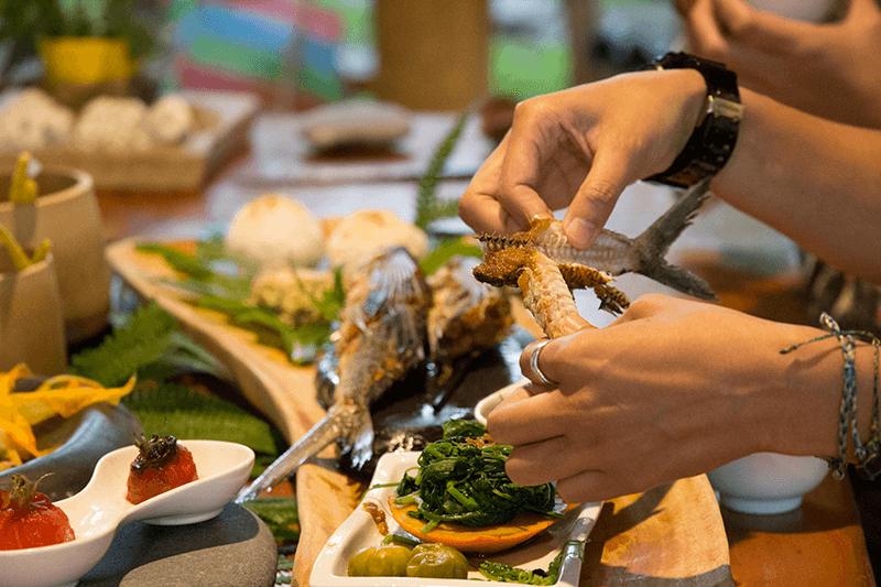 ▲台東部落食尚好店推薦-撒麗坊風味餐 。(圖/雅比斯國際創意策略股份有限公司)